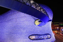 Birmingham, Selfridges, by architects Future Systems,.West Midlands © Some Guy