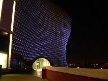 Birmingham, Selfridges at night, West Midlands © Wendy North